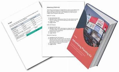 Advertising Template Plan Planning Kit Hubspot Prepare