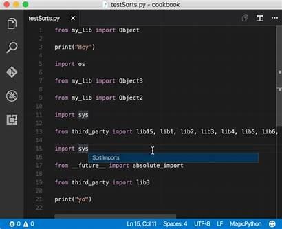 Python Code Vscode Editing Visual Import Studio