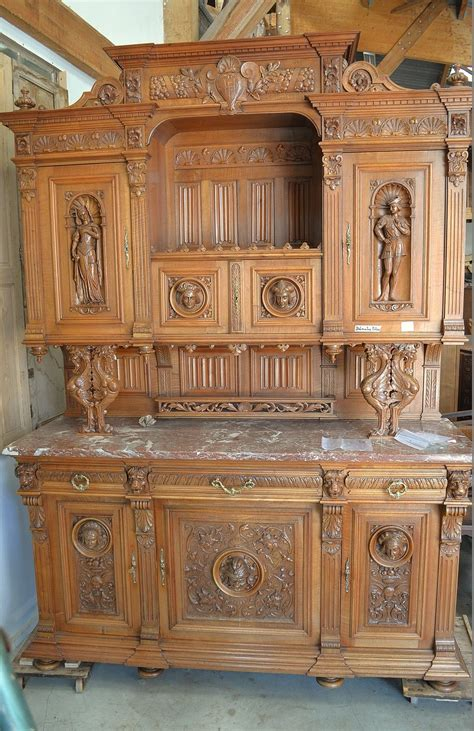 buffet henri 2 ancien en noyer prix antic