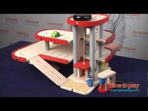 parking garage  plan toys youtube