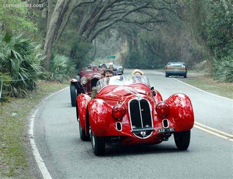 1938 Alfa Romeo 8c 2900 Mille Miglia Mm 2900b Conceptcarz