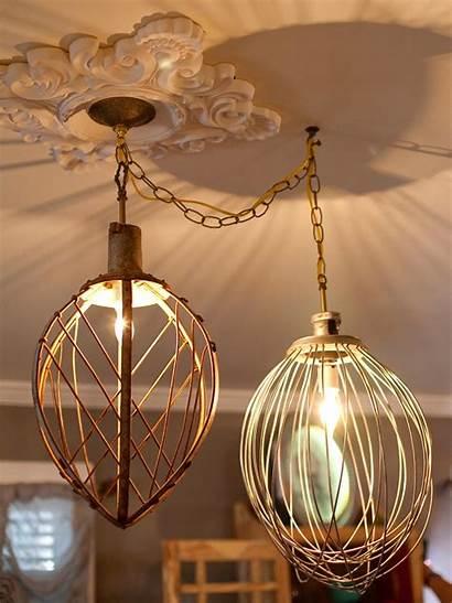 Lighting Diy Fixtures Lights Pendant Homemade Lamps