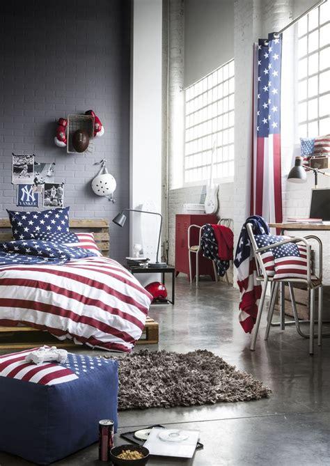 decoration chambre ado style americain deco usa chambre