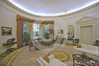 reproduction du bureau d ovale de la maison blanche photo stock 233 ditorial image 26274268