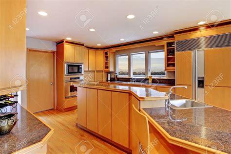 cuisine americaine moderne cuisine grande cuisine en bois de luxe moderne avec
