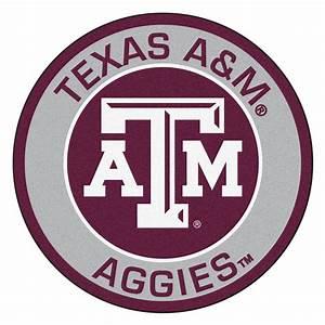 "Texas A&M University A&M Aggies Logo Roundel Mat - 27"""