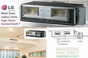 Lmhn360hv 36000 Btu Lg Concealed Duct High Static Air