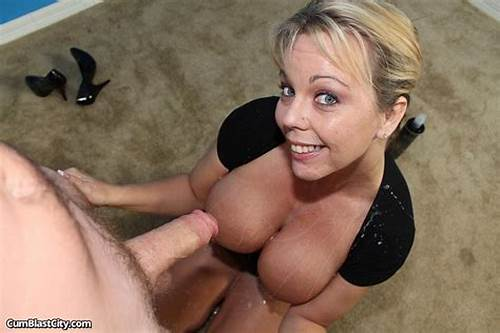 Lynn Fed With Prick And Getting #Milf #Amber #Lynn #Bach #Sucks #A #Cock #And #Takes #A #Huge #Facial