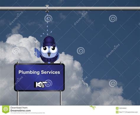 blue sky plumbing plumbing services stock photography image 32244842