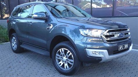 Ford Everest Blue  Auto Cars