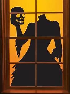 best 25 halloween window silhouettes ideas on pinterest With halloween window silhouettes template