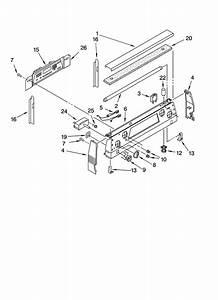 Kitchenaid Ykers507hwo Free Standing Electric Range Timer