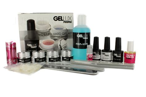 Salon System Profile Gellux Uv/led Hard Gel Nail Polish