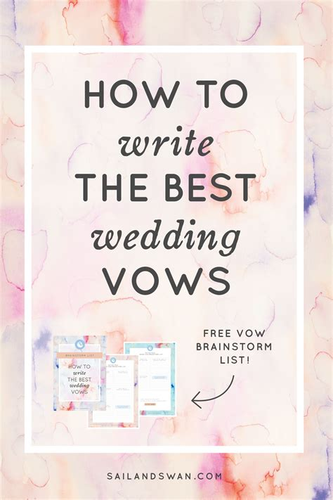 how to write the best wedding vows wedding vow exles and ideas