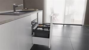 Mülleimer Unter Spüle : kleine k chen einrichten tipps f r viel raum auf wenig platz blanco ~ Watch28wear.com Haus und Dekorationen