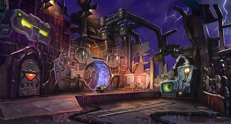 More Epic Mickey Concept Art Wasteland Deleted Disney