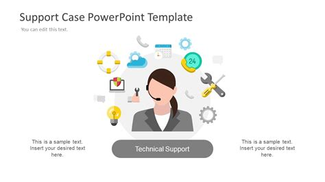 customer support training  slidemodel