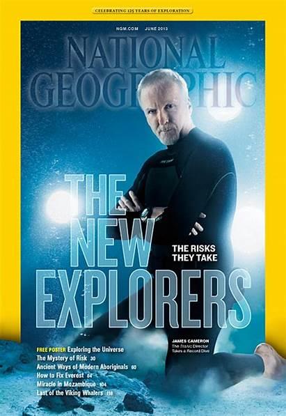 National Magazine James Cameron Geographic June Geo