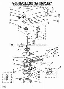 Kitchenaid Kpm5 Parts List And Diagram   Ereplacementparts