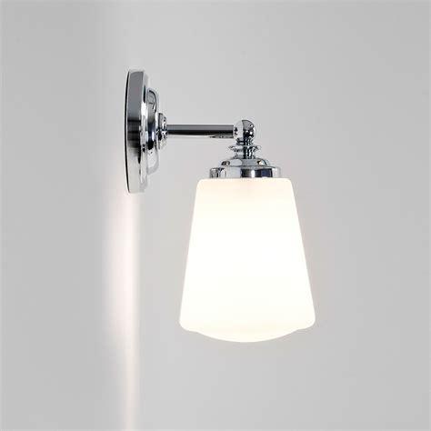 astro anton polished chrome bathroom wall light at uk