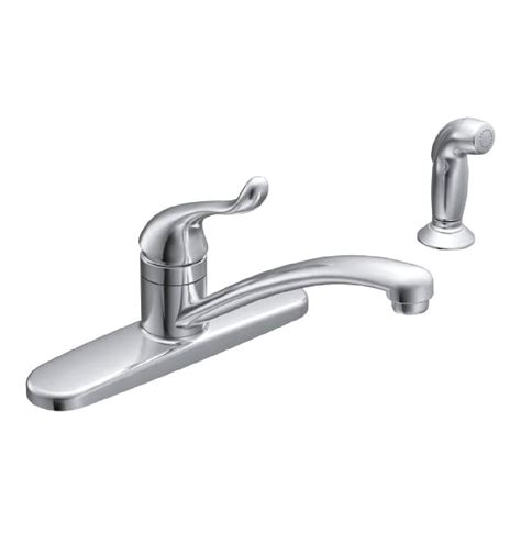 kitchen sink and faucet moen ca87530 adler one handle low arc kitchen sink faucet