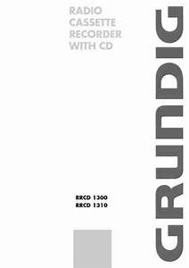Grundig Rrcd 1310 Hifi System Download Manual For Free Now