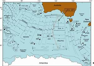 Figure F1. Regional map of the Southeast Indian Ocean ...