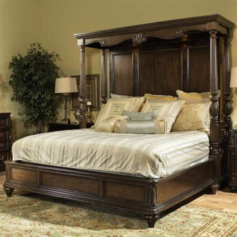 chateau marmont king canopy bed  fairmont designs