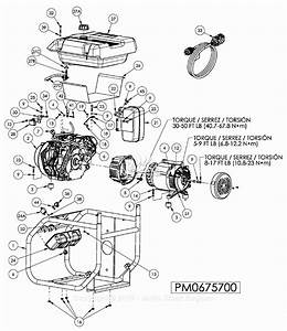 Powermate Formerly Coleman Pm0675700 Parts Diagram For