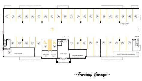 parking garage floor plans find house plans