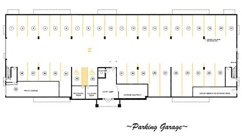 Parking Garage Floor Plans « Unique House Plans