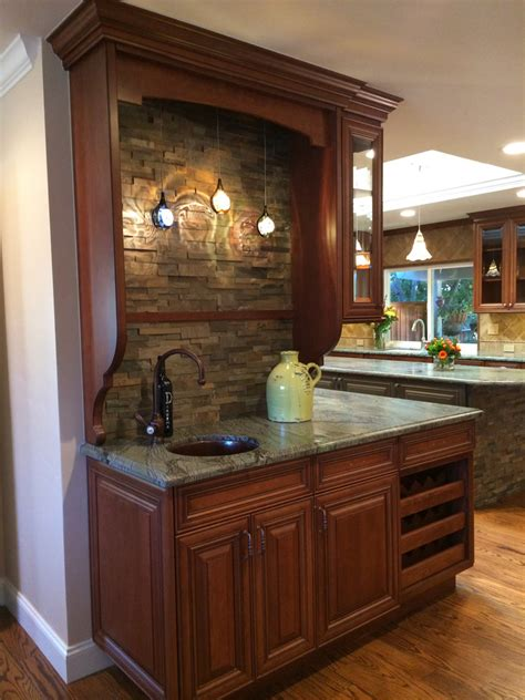 kitchen wine cabinet built in wine rack staircase eclectic with none 3488