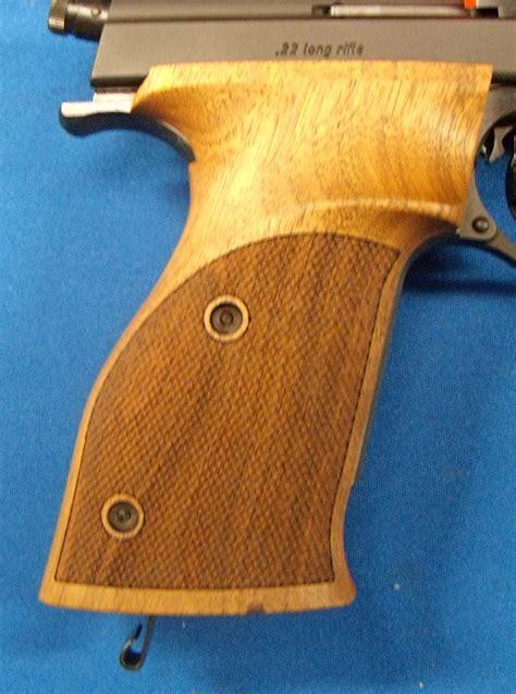 reduced price fs nill wood grips  hammerli  symmetric left   hand