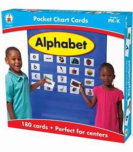 School Grade Chart Alphabet Pocket Chart Cards Grade Pk K