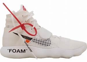 Nike React Hyperdunk 2017 Flyknit Off-White - AJ4578-100  Hyperdunk