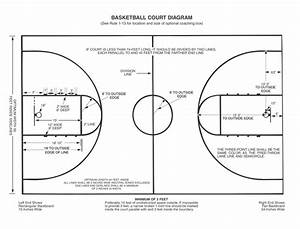 Download Basketball Court Lines Png