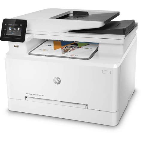 hp laser color printer hp color laserjet pro m281fdw all in one laser printer