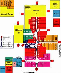 Lakeside Shopping Center Map Louisiana Tax Free Shopping