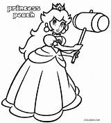 Peach Coloring Princess Mario Printable Colouring Super Cool2bkids Game Character Kart Printables Quote Burning Drawing Wood Luigi Visit sketch template