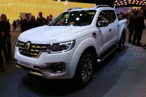 renault alaska new renault alaskan pick up revealed official pictures
