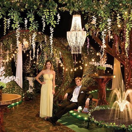 Garden Decoration Themes by 11 Best Prom Themes For 2017 Images On