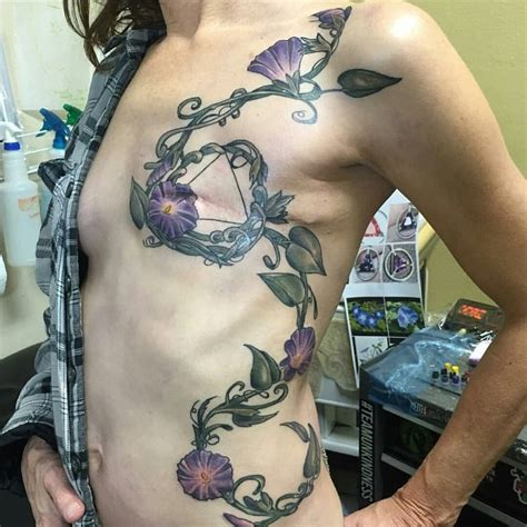 breast cancer tattoos   changed lives