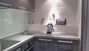 refaire une petite cuisine de 3 m2 avec philippe demougeot With modele de maison en l 16 cuisine 4m2 ouverte top cuisine