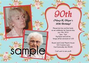 90th birthday invitations wording amazing invitations cards With 90th birthday invites templates