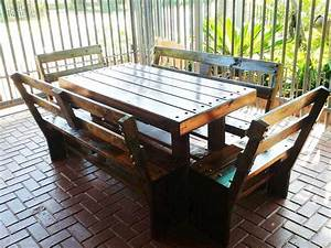 Diy Outdoor Dining Set - learn how to build a tile-top