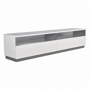 Tv Bank 200 Cm : decibel tv b nk 200 med sockel vit h gblank 3895 kr ~ Bigdaddyawards.com Haus und Dekorationen