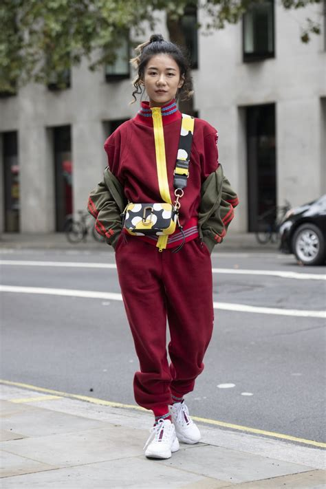 tracksuit street style  trends   coming