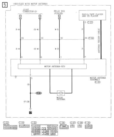 Need Radio Wiring Diagram For Mitsubishi Eclipse