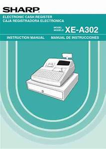 Sharp Xea302 Cash Register Download Manual For Free Now