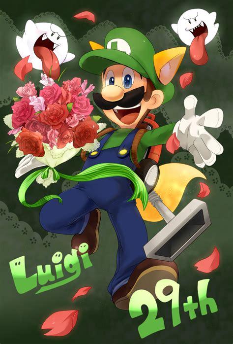 Luigi Fanart Page 2 Zerochan Anime Image Board